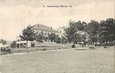 A View Of The Sanatorium, Mercer, PA Pennsylvania 1911