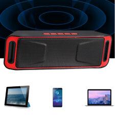 Subwoofer Super Bass Stereo Wireless Bluetooth Speaker hand-held Outdoor Indoor