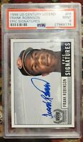 Frank Robinson Auto upper deck Epic Signature PSA / DNA Certified Authentic