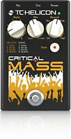 CRITICAL MASS TC Helicon Critical Mass Vocal Effect Processor - FREE 2 DAY SHIP