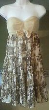 Strapless party dress size 3 Johnny Martin