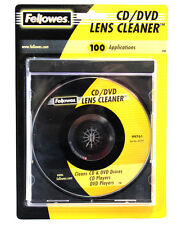 100x Fellowes CD Lens Cleaner DVD Disc Drive Xbox One Wii PS4 Micro-Thin Fibers
