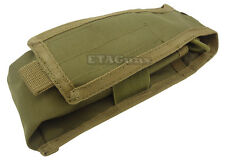 CONDOR Coyote Tan MA9 MOLLE PALS L / R Antenna Radio Walkie Talkie Pouch Holster