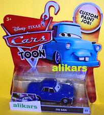 "T"" - ITO SAN - #13 Disney Cars Mattel Toons Tokyo Mater's Tall Tales Toon autos"