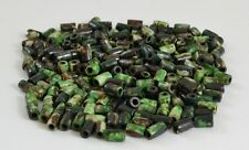 160 Pcs Dyed Green Tube Bone Beading Beads 9Mm #T-1686