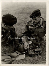 Soldiers of the 5th Special Forces & their new jungle radio, Orig. Photo, 1964