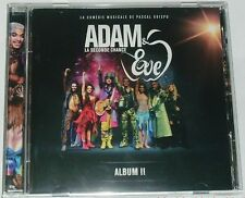 ADAM & EVE  LA SECONDE CHANCE  ALBUM II  PASCAL OBISPO  VERSION LIVE  CD