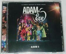 ADAM & EVE  LA SECONDE CHANCE  ALBUM II  PASCAL OBISPO  VERSION LIVE  CD