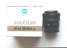Minolta Maxxum AFxi 28-80/f4-5.6  55mm Lens