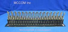 ADC PPE1232-CJM-BK 1RU 2x32 Midsize Striaght-Thru HD Video Patchbay