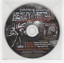 (GG741) Earache pres. Heavy Metal Killers, 3 track sampler - 2009 DJ CD