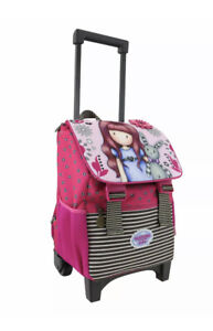 Santoro Gorjuss Fiesta Trolley Rucksack Bag Pull Long Girls Great Weekend Bag