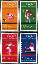 RFA (FR.Allemagne) 734-737 (édition complète) oblitéré 1972 Jeux Olympiques