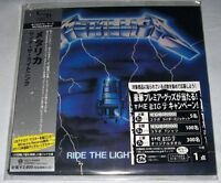 Metallica - Ride the Lightning (1984) / JAPAN MINI LP SHM-CD (2010) NEW