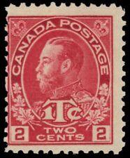 """CANADA MR3 - King George V """"Admiral"""" War Tax Die I (pf27098) NH"""