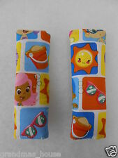 Baby Seat Belt Strap Covers Infant Car Highchair Stroller Pram - Bubble Guppies