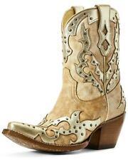 Ariat Women's Sapphire Warm Stone Western Boot Snip Toe 10029660