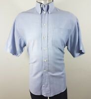 Ben Sherman formal button down Short Sleeve shirt 16 collar