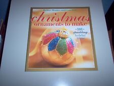 "Better Homes and Gardens ""Christmas Ornaments to Make"" paperback book"
