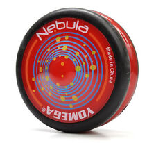 Yomega Nebula Red and Black Yo Yo  PLUS 3 FREE NEON STRINGS YEL/ORG/GREEN