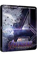 Avengers Endgame (4K/2D Blu-ray discs, 2019) Pre-order Zavvi Steelbook SOLD OUT!