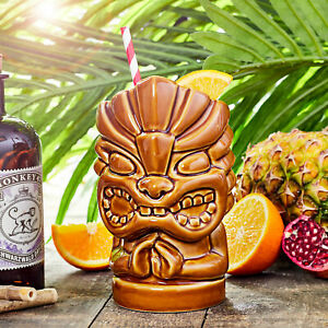 Tiki Hands Mug 27.5oz / 780ml - Novelty Ceramic Hawaiian Themed Cup