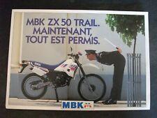 ** Documentation MBK M   MBK ZX 50 trail