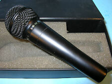 SHURE PROLOQUE 24L MIC MICROPHONE in Padded case ..LO Z DYNAMIC