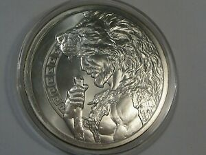 12 Labors of Hercules 5 troy oz 999 Fine Silver Round Only 500 Minted.  #4