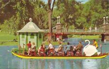 Robert Paget Designed Swan Boats Boston'S Public Garden 1968 Fred Jellison photo