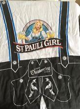 St Pauli Girl Oktoberfest lederhosen Design Xl T Shirt 2010 Oktobeerfest Beer
