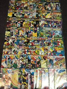 Lot (80) EXCALIBUR #1-75 + SPECIALS ANNUALS MARVEL COMICS 1988 RACHEL PHOENIX ++
