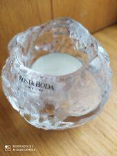 Norwegian Kosta Boda Glass Tea Light Holder