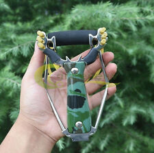 Stainless Powerful Wrist Brace Support Shot Slingshot Catapult Outdoor Hunting