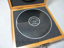 Brand New CD DVD BD Disc Partner CF-CD.2 Carbon Fiber CD Mat Stabilizer Clamp