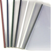 24mm - White - 100pcs UniBind SteelMat Frosted Covers