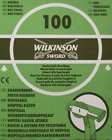Wilkinson Sword Krankenhaus-Fertig-Rasierer - Packung - 100 Stück