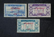 CKStamps: Syria Stamps Collection Scott#C136 Thin C138 NH OG #C137 H OG