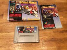 Stunt Race Fx Game Snes Super Nintendo Boxed Complete