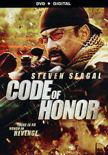 Code of Honor DVD Movie,Steven Seagal (2016)  -Helena Mattsson-Craig Sheffer