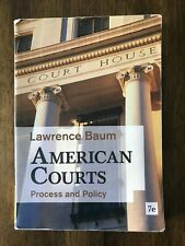 American Courts : Process and Policy by Lawrence Baum (2012, Paperback)