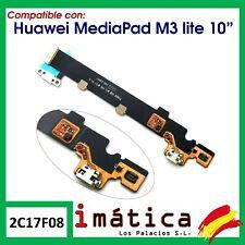 PLACA DE CARGA PARA HUAWEI MEDIAPAD M3 LITE 10 CABLE FLEX MICROFONO CONECTOR