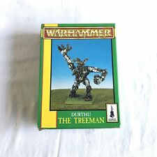 Warhammer Citadel Games Workshop Durthu The Treeman Pewter NIB