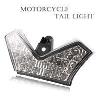 Clear LED Tail Brake Light Taillamp Indicator Fit Kawasaki Ninja ZX14R 2006-2013