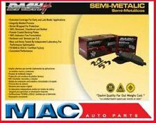EXPLORER EXPLORER SPORT TRAC MOUNTAINEER Set of Semi-Metallic Rear Brake Pads