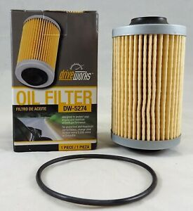 Driveworks DW-5274 Oil Filter For GMC, Chevrolet, Cadillac, Olds, And Saab