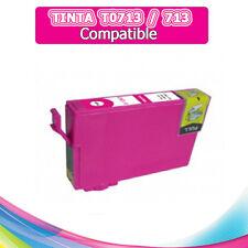 1 Tinta compatible NON OEM Magenta EPSON STYLUS T0713 T-0713 T 0713 T713