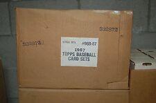 1988 TOPPS Baseball set case - 16 factory sealed sets