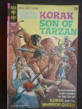 Korak Son of Tarzan Comic Book March 1971 #10101-103 Korak and the Warrior Queen