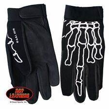 GVM2007 Skeleton Finger Biker/Riding Mechanics Gloves Size XXL